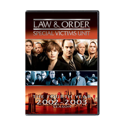 Law and Order - SVU Season 4 DVD