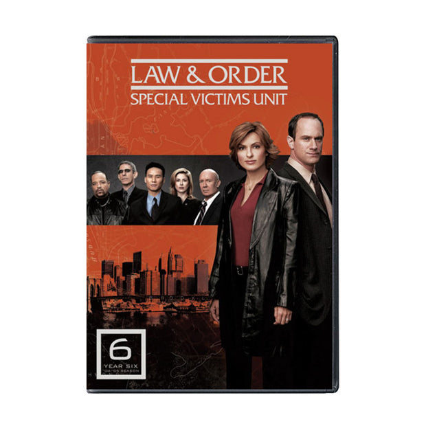 Law and Order - SVU Season 6 DVD