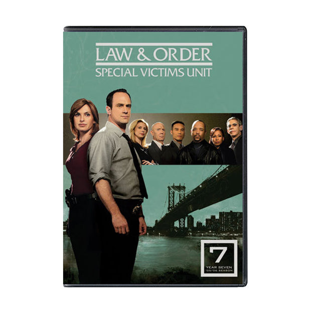 Law and Order - SVU Season 7 DVD