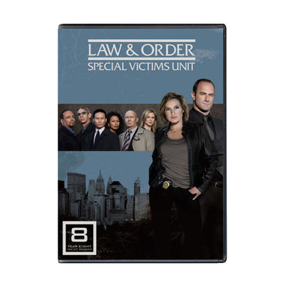 Law and Order - SVU Season 8 DVD