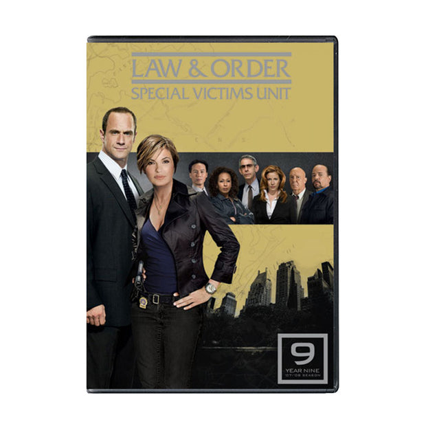 Law and Order - SVU Season 9 DVD