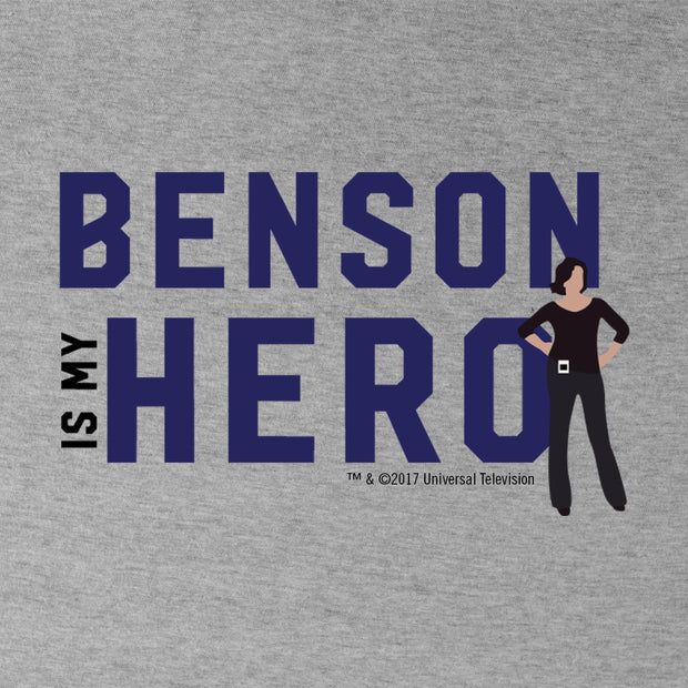 Law & Order: SVU- Benson Is My Hero Women's Short Sleeve T-Shirt