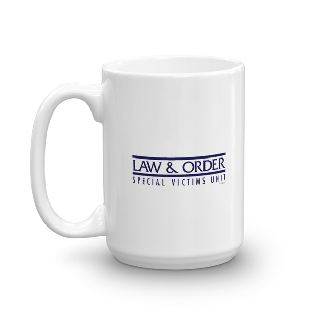 Law & Order: SVU Benson is My Hero White Mug