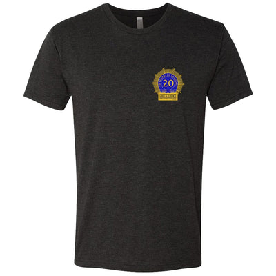 Law & Order: SVU 20th Anniversary Men's Tri-Blend Short Sleeve T-Shirt