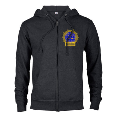 Law & Order: SVU 20th Anniversary Lightweight Zip Up Hooded Sweatshirt