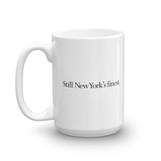 Law & Order: SVU Still New York's Finest White Mug