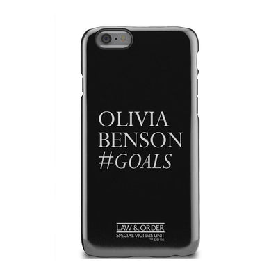 Law & Order: SVU Olivia Benson #Goals Tough Phone Case