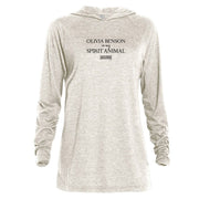 Law & Order: SVU Benson is my Spirit Animal Tri-blend Raglan Hoodie