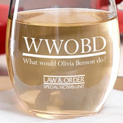 Law & Order: SVU WWOBD Stemless Wine Glass