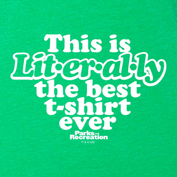 Parks and Recreation Literally St. Paddy's Day Women's T-Shirt