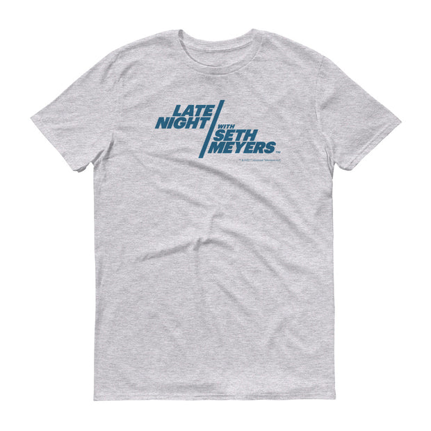 Late Night With Seth Meyers Men's Logo Short Sleeve T-Shirt