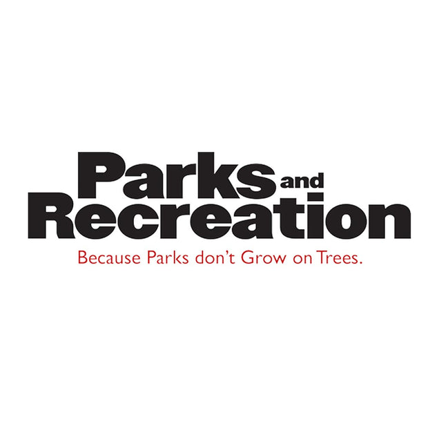 Parks and Recreation Logo White Mug