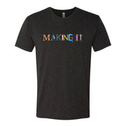 Making It Color Logo Men's Tri-Blend Short Sleeve T-Shirt