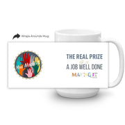 Making It The Real Prize White Mug