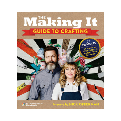 The Making It Guide to Crafting Paperback Book