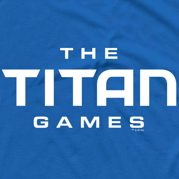 The Titan Games Logo Men's Short Sleeve T-Shirt