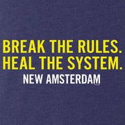 New Amsterdam Break the Rules Men's Tri-Blend Short Sleeve T-Shirt