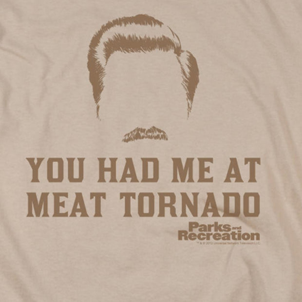 Parks and Recreation Meat Tornado Short Sleeve T-Shirt