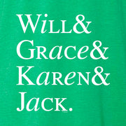 Will & Grace Names St. Paddy's Day Men's T-Shirt