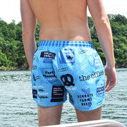 The Office Mash-Up Swim Trunks