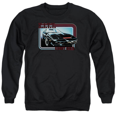 Knight Rider KITT Crew Neck Sweatshirt