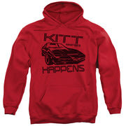 Knight Right KITT Happens Hooded Sweatshirt