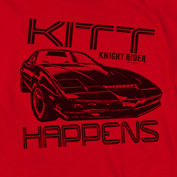 Knight Rider KITT Happens Short Sleeve T-Shirt
