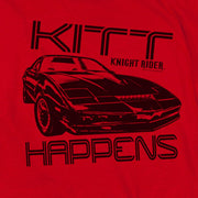 Knight Rider KITT Happens Long Sleeve T-Shirt