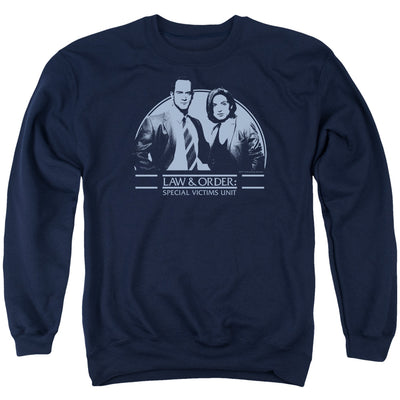 Law & Order: SVU Elliot & Olivia Crew Neck Sweatshirt