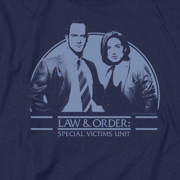 Law & Order: SVU Elliot & Olivia Men's Short Sleeve T-Shirt