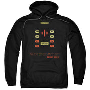 Knight Rider KITT Console Hooded Sweatshirt