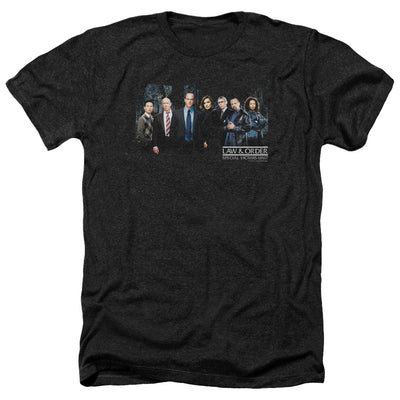 Law & Order: SVU Cast Black Heather Short Sleeve T-Shirt