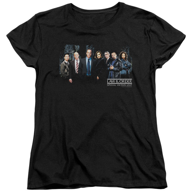 Law & Order: SVU Cast Women's Short Sleeve T-Shirt