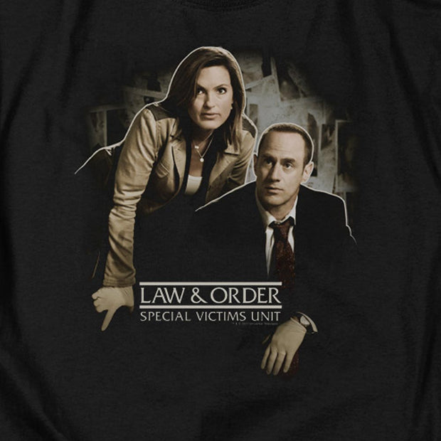 Law & Order: SVU Helping Victims Crew Neck Sweatshirt