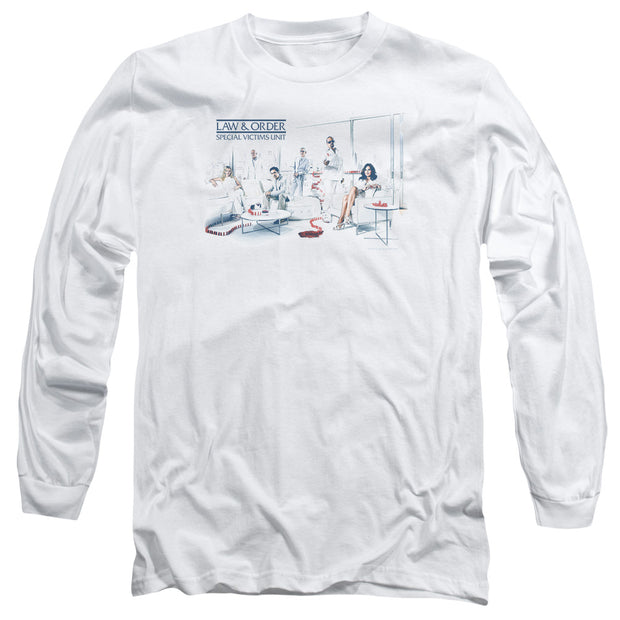 Law & Order: SVU Dominos Long Sleeve T-Shirt