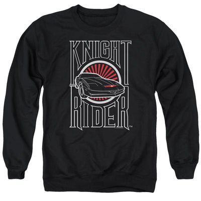 Knight Rider Logo Crew Neck Sweatshirt