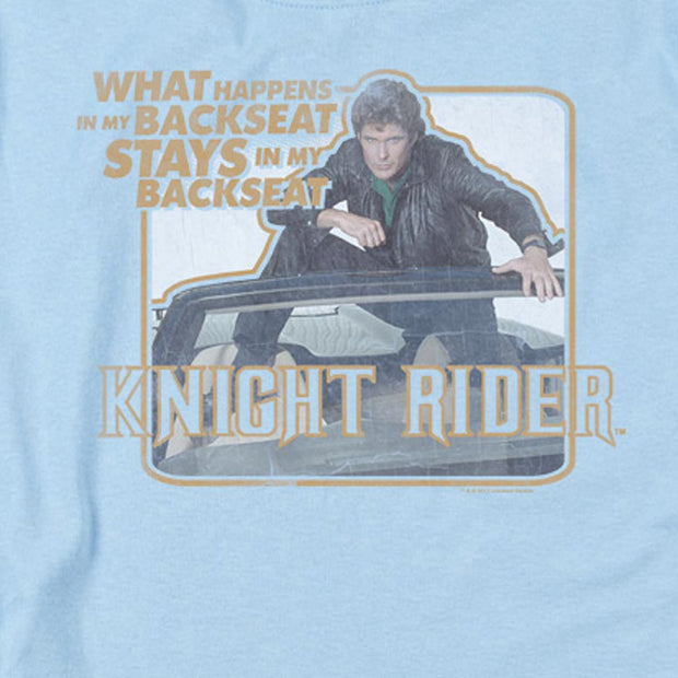 Knight Rider Back Seat Women's Short Sleeve T-Shirt