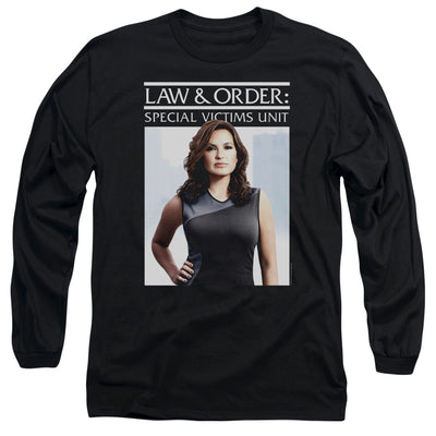 Law & Order: SVU Behind Closed Doors Long Sleeve T-Shirt