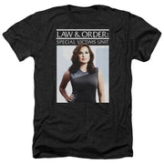 Law & Order: SVU Behind Closed Doors Black Heather Short Sleeve T-Shirt