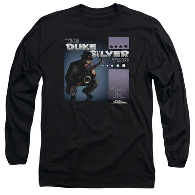Parks and Recreation The Duke Silver Trio Long Sleeve T-Shirt