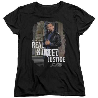 Law & Order: SVU Street Justice Women's Short Sleeve T-Shirt