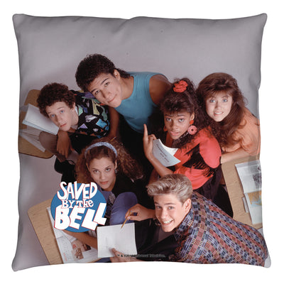 Saved By The Bell Group Shot Throw Pillow
