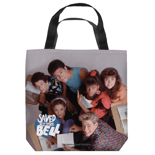 Saved by The Bell Group Shot Tote Bag