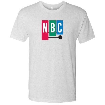 NBC Vintage 1954 Peacock Men's Tri-Blend Short Sleeve T-Shirt