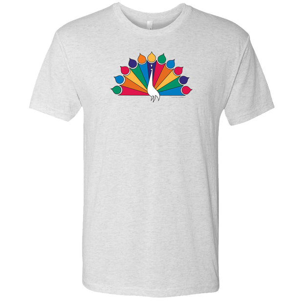 NBC Vintage 1956 Peacock Men's Tri-Blend Short Sleeve T-Shirt