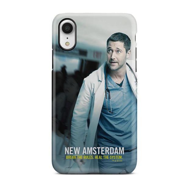 New Amsterdam Break the Rules Tough Phone Case