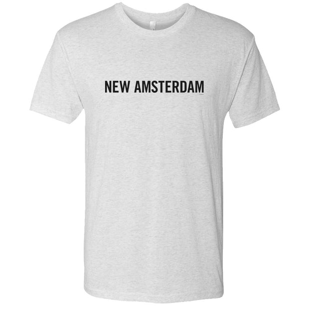 New Amsterdam Men's Tri-Blend Short Sleeve T-Shirt