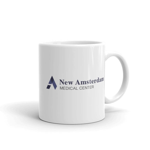 New Amsterdam Medical Center White Mug