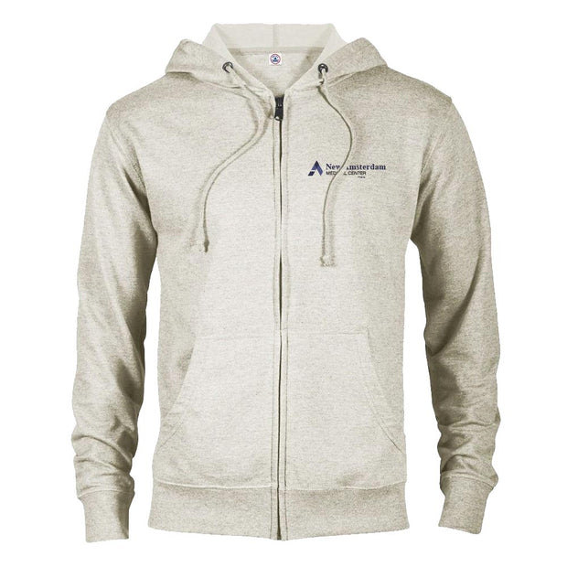 New Amsterdam Medical Center Lightweight Zip Up Hooded Sweatshirt