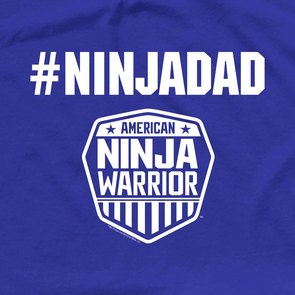 American Ninja Warrior #ninjadad Men's Short Sleeve T-Shirt-secondary-image